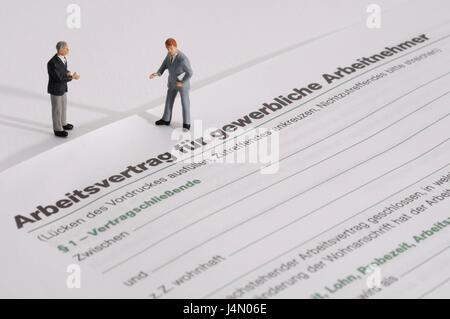 Form Arbeitsvertrag Zeichen Symbol Vertrag Arbeit Aktivität
