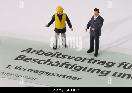 Form Arbeitsvertrag Zeichen Symbol Besetzung Einstellung