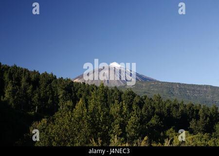 Spanien, Teneriffa, Pico del Teide, - Stockfoto