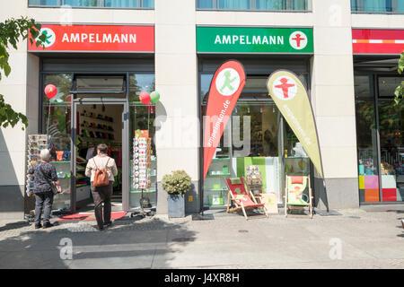 Ampelmann Shop, Berlin, Deutschland - Stockfoto