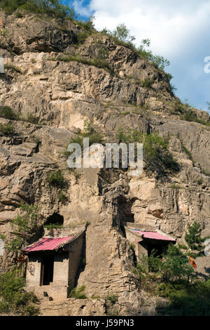 Das Red Long März Armeemuseum auf Liupan Berge, autonomen Region Ningxia Hui, China - Stockfoto