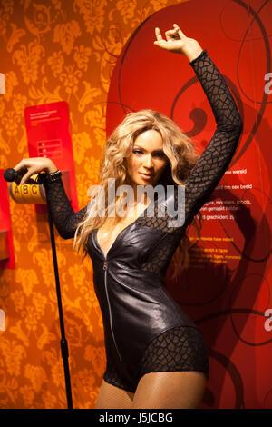 Amsterdam, Niederlande - März 2017: Wachsfigur der Sängerin Madonna in Madame Tussauds Wachsfigurenkabinett in Amsterdam, - Stockfoto