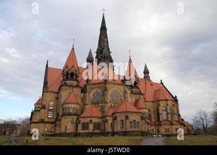 glaube Kirche Deutschland Bundesrepublik Deutschland Dresden Reisen Reise Reise - Stockfoto