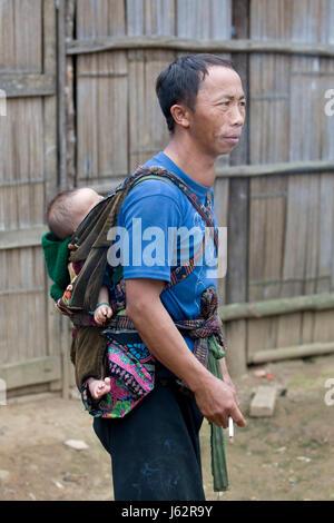asiatische Väter