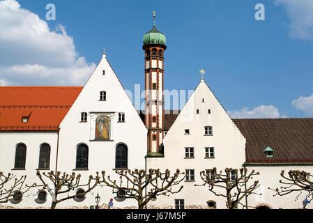 historische Bayern Deutschland Bundesrepublik Deutschland Kloster Kirchen Emblem - Stockfoto