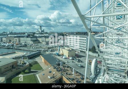 Blick auf Helsinki Finnland - Stockfoto