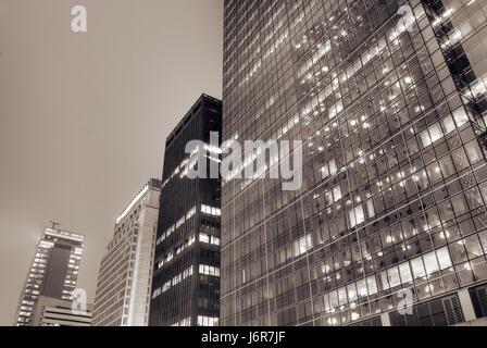 Nacht Nacht Stil der Architektur architektonischen Baustil externe - Stockfoto