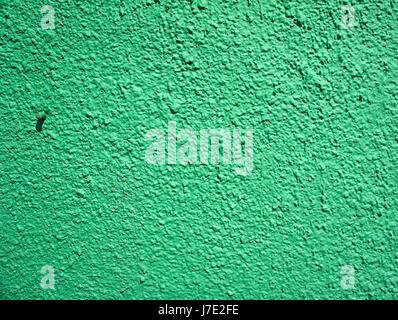 Charming Hintergrund Einer Limette Grün Stuck überzogen Und Bemalt Nach Außen, Grobe  Besetzung Von Zement Und