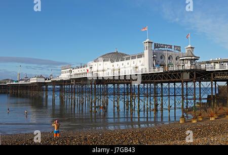 Brighton Palace Pier, Brighton, East Sussex, England, Vereinigtes Königreich