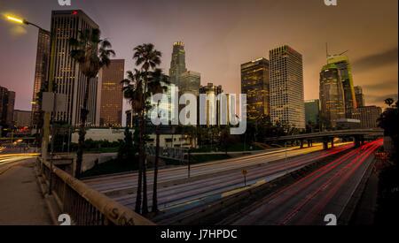 Die Innenstadt von Los Angeles, CA USA - Stockfoto