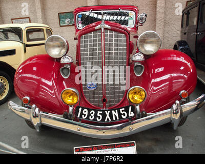 1935 1936 REO Flying Cloud sechs, 6 Zylinder, 4200 cm3, 90 cv, pic1 - Stockfoto