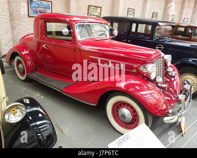 1935 1936 REO Flying Cloud sechs, 6 Zylinder, 4200 cm3, 90 cv, pic5 - Stockfoto