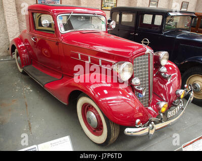 1935 1936 REO Flying Cloud sechs, 6 Zylinder, 4200 cm3, 90 cv, pic6 - Stockfoto