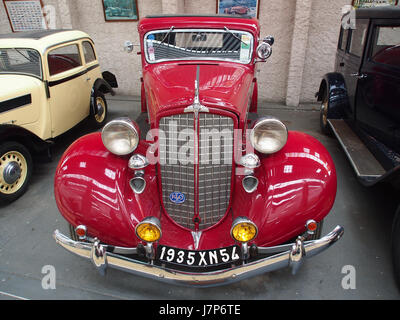 1935 1936 REO Flying Cloud sechs, 6 Zylinder, 4200 cm3, 90 cv, pic7 - Stockfoto