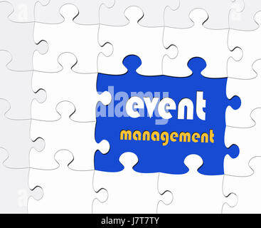 Event-Management - Business-Konzept - Stockfoto
