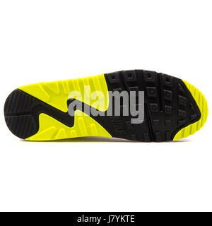 low priced 3db4f 59936 ... Nike Air Max 90 LTR schwarz Turnschuhe grau und Gelb Herren Sport -  652980-007
