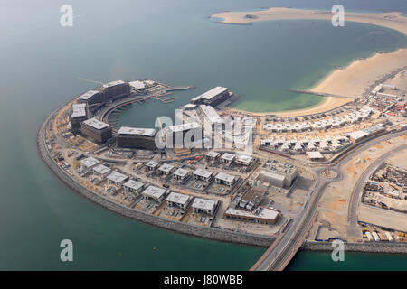 Dubai-Daria-Insel Luftbild Fotografie Vereinigte Arabische Emirate - Stockfoto