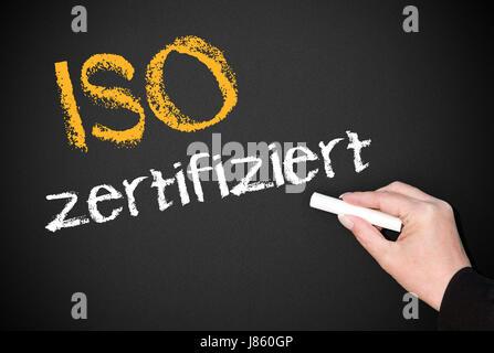 Überprüfen Sie Unternehmens-Optimierung Qualität Zertifikat Prüfung Prüfunternehmen - Stockfoto