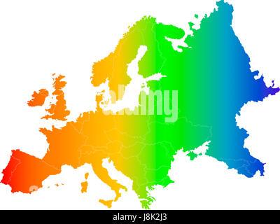 blau, Reisen, Politik, Farbe, Slowakei, Navigation, Griechenland, leer, europäischen, - Stockfoto
