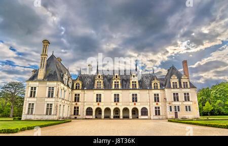 Chateau de Beauregard, eines der Schlösser der Loire-Tal in Frankreich - Stockfoto