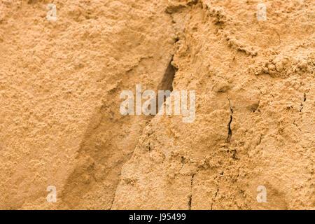Sand Textur auf Wüste. - Stockfoto