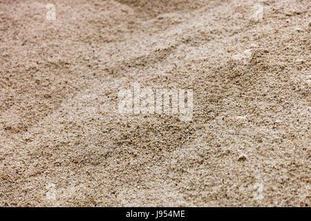 Sand Textur am Strand. - Stockfoto