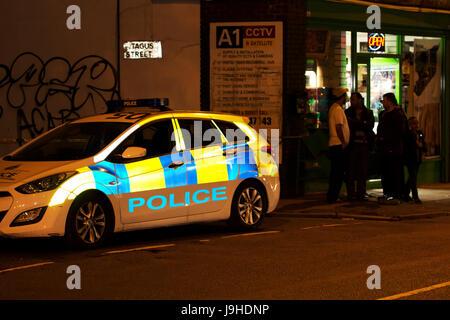 Liverpool, Vereinigtes Königreich. 2. Juni 2017. Ein 18 Jahre alter Mann wurde erschossen auf der Lodge Lane, Toxteth - Stockfoto