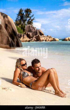 Frau, romantisch, Strand, Meer, Strand, Meer, Sommer, sommerlich, - Stockfoto