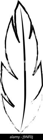 Feder-Symbolbild - Stockfoto