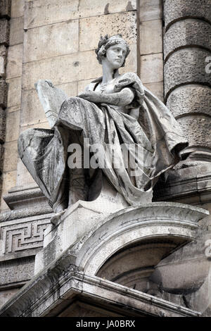 Frau, Kunst, Stein, Skulptur, Bayern, München, Gesetz, Gesetzgeber, Geschichte, - Stockfoto