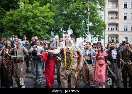 Berlin, Deutschland. 04. Juni 2017. Simon Becker/le pictorium - Karneval der Kulturen Berlin, 2017 - 04/06/2017 - Stockfoto