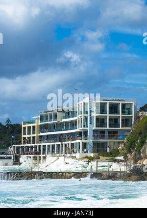 Bondi Icebergs am Bondi Beach in die östlichen Vororte, Bondi, Sydney, New South Wales, Australien. - Stockfoto
