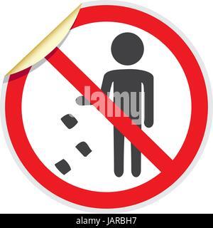 littering zu stoppen m ll zu verbieten es ist verboten. Black Bedroom Furniture Sets. Home Design Ideas