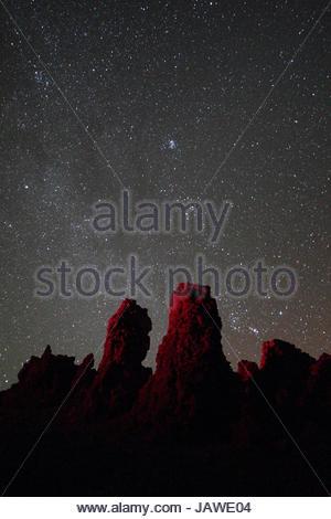 Roque de Los Muchachos, Rock Boys, auf La Palma. - Stockfoto