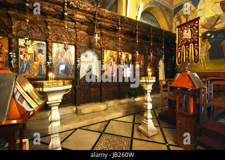israel unteren galil a die kirche st josef in nazareth. Black Bedroom Furniture Sets. Home Design Ideas