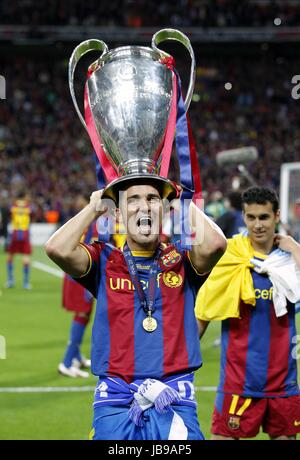 DAVID VILLA BARCELONA CF FC BARCELONA WEMBLEY Stadion LONDON ENGLAND 28. Mai 2011 - Stockfoto