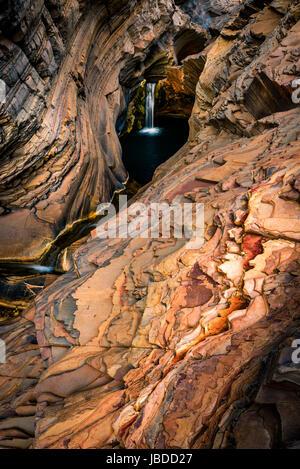 Spa-Pool im Karijini National Park, Western Australia, Australia