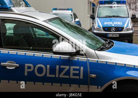 deutsche polizei auto deutschland kassel hessen europa stockfoto bild 144873941 alamy. Black Bedroom Furniture Sets. Home Design Ideas