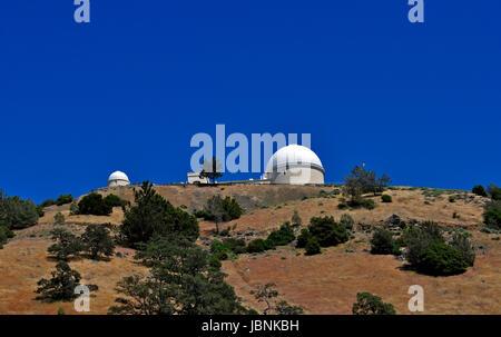 Lick-Observatorium, Mount Hamilton, Kalifornien - Stockfoto
