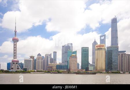 Orientel Pearl Tower - Stockfoto