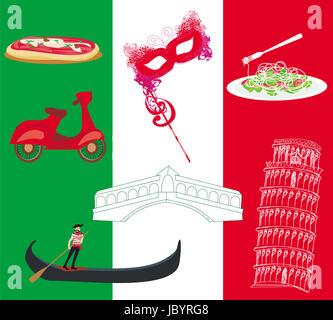 flaggen symbol italien design vektorgrafik vektor abbildung bild 110923057 alamy. Black Bedroom Furniture Sets. Home Design Ideas