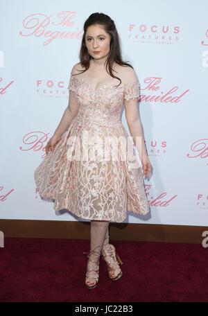 Los Angeles, USA. 12. Juni 2017. Emma Kenney. '' Die Beguiled'' ' Los Angeles Premiere bei der Directors Guild Of - Stockfoto