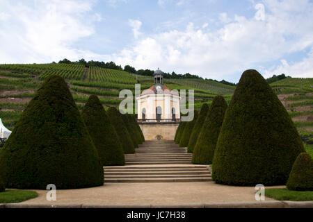 Weingut Schloss Wackerbarth - Stockfoto