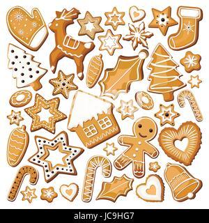 Lebkuchen Ingwer Cookies Cookies Bisquit Sussigkeiten Verschiedene