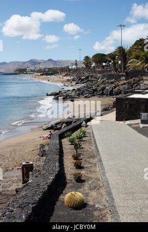 Lanzarote, Puerto del Carmen, Spanien - Stockfoto