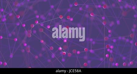 Zusammenfassung Hintergrund der Rohre und Verbindungen in einem Netzwerk der Technologie - Stockfoto