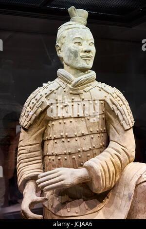 Krieger Terrakotta Armee, UNESCO, Xian, China - Stockfoto