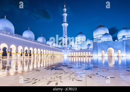 Abu Dhabi-Moschee - Stockfoto
