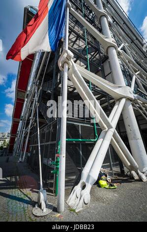Centre Pompidou - Stockfoto