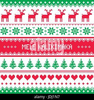 Frohe Weihnachten Hawaii.Mele Kalikimaka Weihnachten Auf Hawaii Stockfoto Bild 9099381 Alamy